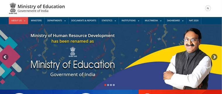 MHRD ministry, education ministry, HRD ministry name change, NEP, National Education Policy, RSS, express explained, indian express