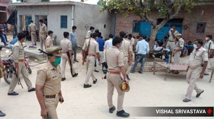 vikas dubey encounter, vikas dubey shot dead, vikas dubey up police, kanpur encounter, uttar pradesh police, yogi adityanath, indian express news