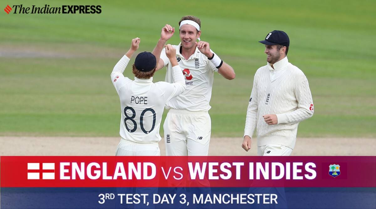 England Vs West Indies 3rd Test Day 3 Highlights Eng Edging Towards The Kill Sports News The Indian Express