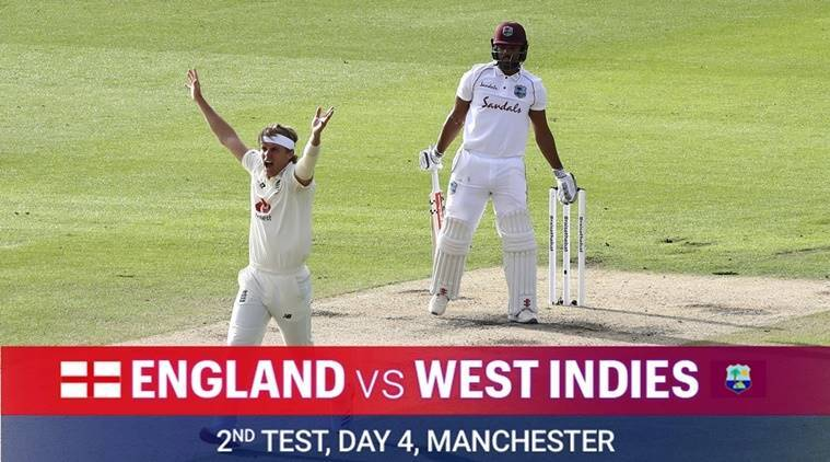 england vs west indies, eng vs wi, eng vs wi day 4
