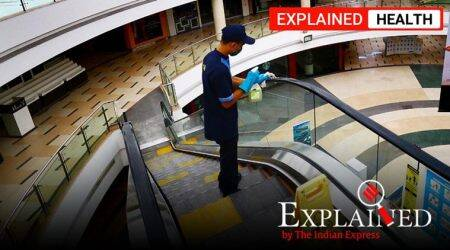 WHO, covid 19 airborne, coronavirus spread through air, indian express explained