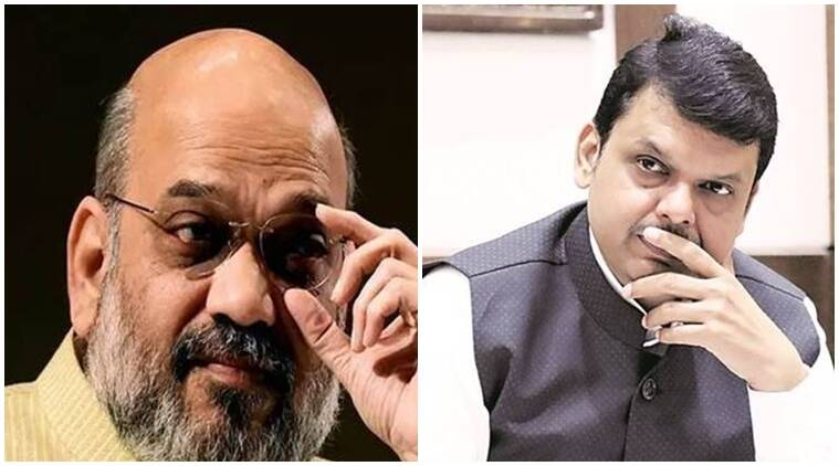 Devendra Fadnavis, Amit shah, maha Vikas Aghadi, operation lotus in maharashtra, maharashtra governmnet topple, maharashtra government collapse, indian express news