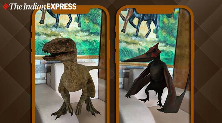 Google 3D animals, Google view in 3D, Google AR option