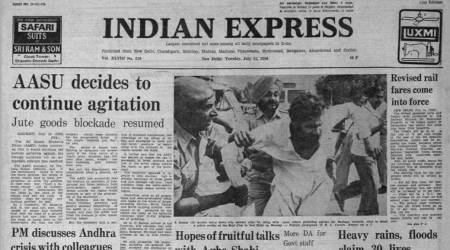 Agha Shahi India visit, Pakistan foreign minister, Indira gandhi, Forty years ago, Indian express news