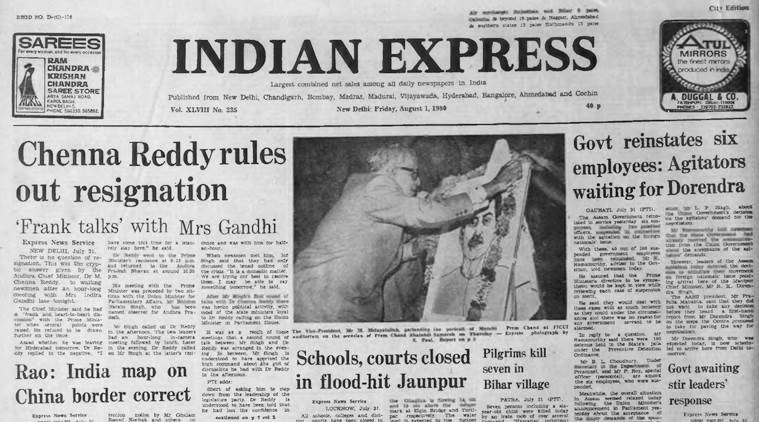 forty years ago, narasimha rao, Xinhua, mohammad rafi, indian express