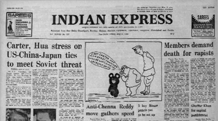 forty years ago, forty years ago Indian Express, US-China Talks, US-China Talks forty years ago, Express Editorial, Indian Express