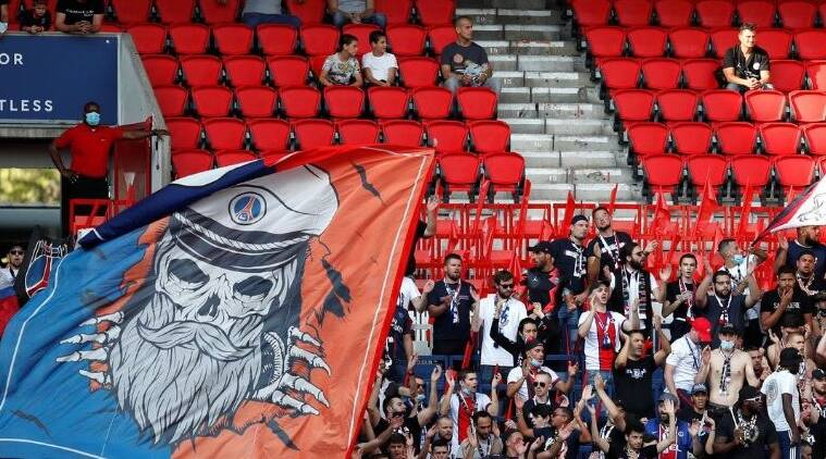 French Government S Relaxed Restrictions Allow Psg Fans Back In The Stands Sports News The Indian Express