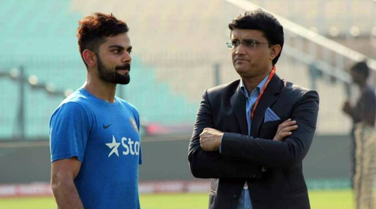 Get Well Soon Dada Virat Kohli Cricket Fraternity Pray For Sourav Ganguly S Speedy Recovery Sports News The Indian Express