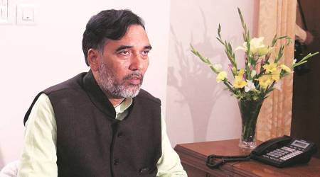 Delhi government, govt job portal, Gopal Rai, Delhi news, Indian express news
