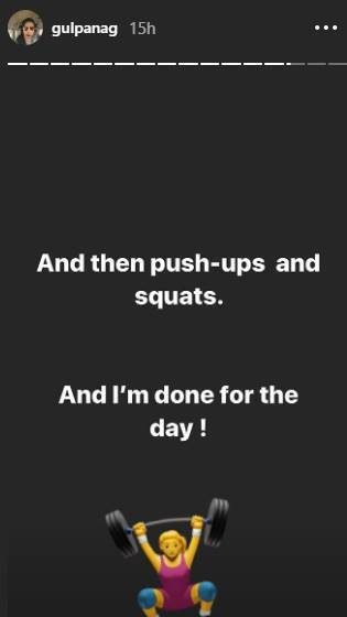 gul panag, exercise