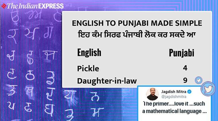 language humour, english to punjabi words, learn punjabi with numbers, english to punjabi translation funny list, funny news, viral news, indian express