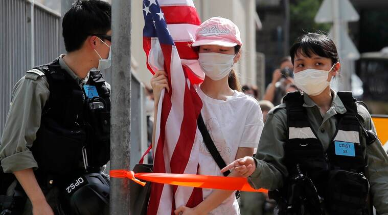 US diplomat in Hong Kong says security law use a 'tragedy'