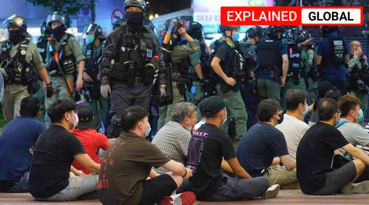 Hong Kong security law explained, China security law, Hong Kong, China Hong Kong, Indian Express