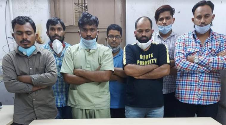 Hyderabad covid drug racket, Hyderabad police, Hyderabad coronavirus cases, Hyderabad remdesivir drug racket, Hyderabad news, city news, Indian Express