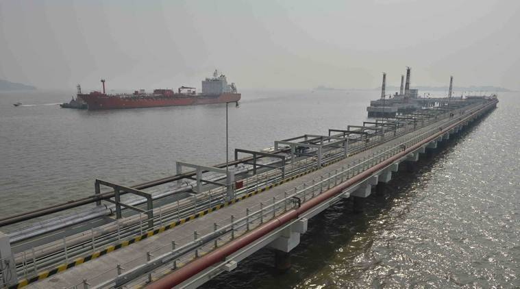 Deendayal Port Trust, oil jetties, deen dayal port trust to develop new oil jetties, cargo ahndling at deendayal port trust, indian express news