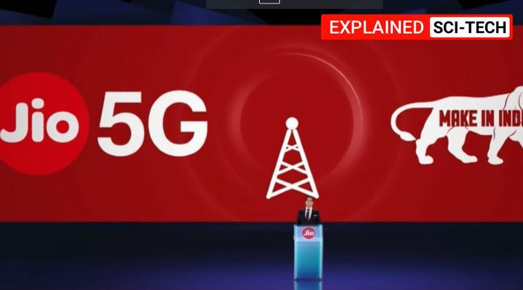 Jio 5g, 5G by Jio, Mukesh Ambani Jio 5G, Jio 5G solution, Jio 5G internet, Express Explained, Indian Express