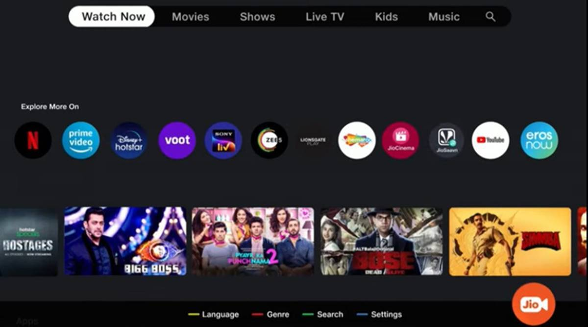 Jio TV+: What is JioTV+? | Know JioFiber set-top-box Features here