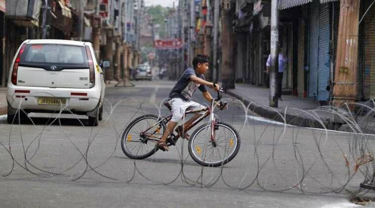 Curfew announced in Srinagar for two days