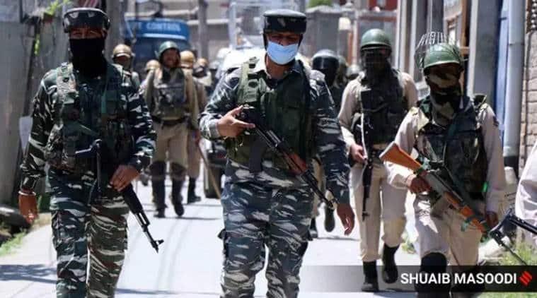 Rajouri police operation, Rajouri militant hideout busted, J&K militants, Rajouri arms ammunition found, J&K news