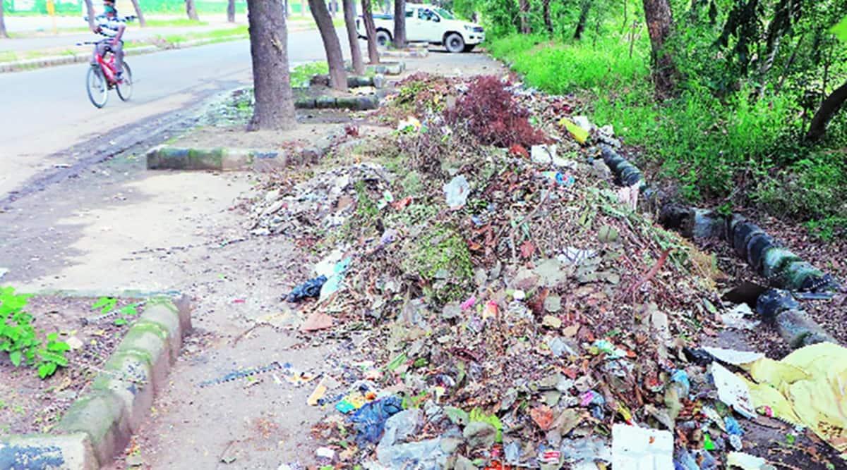 chandigarh waste management, Chandigarh News, chandigarh traffic congestion, indian express