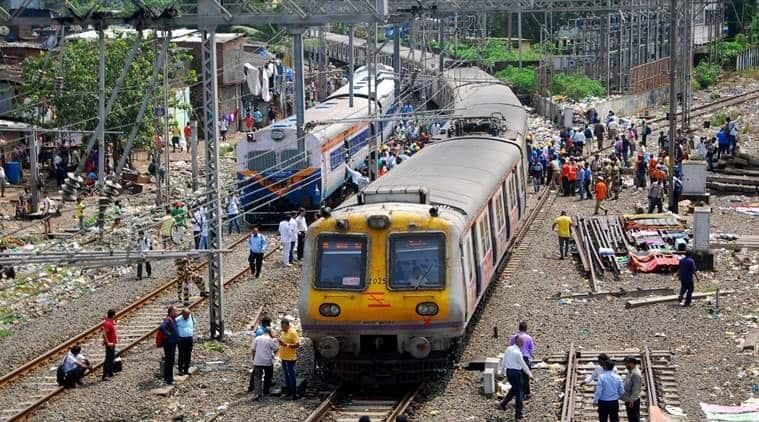 covid in mumbai, mumbai rainfall, mumbai local trains, mumbai water logging, mumbai local trains service, mumbai local trains reduced service, indian express news