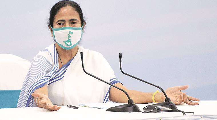 Mamata Banerjee, west bengal covid lockdown, west bengal private buses, west bengal private buses permit-fee waive, indian express news