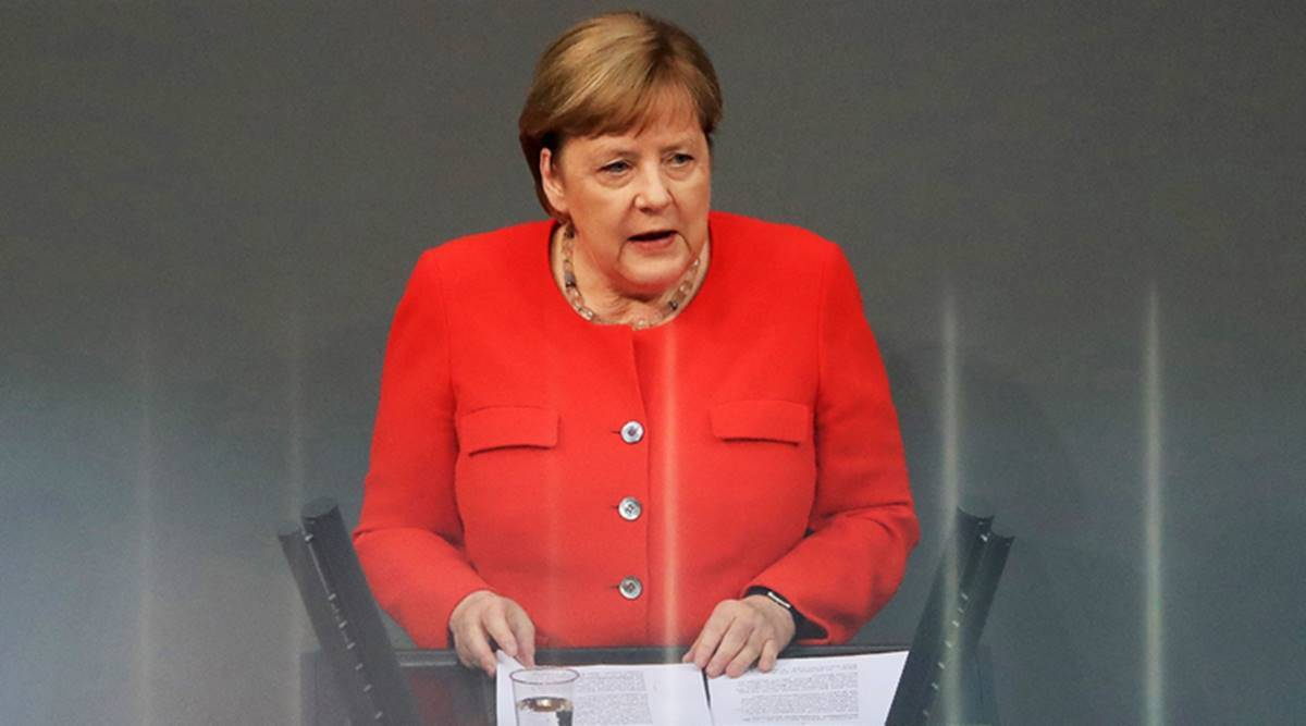 angela merkel, germany EU presidency, germany, coronavirus news, germany covid news, angela merkel EU presidency, Indian Express