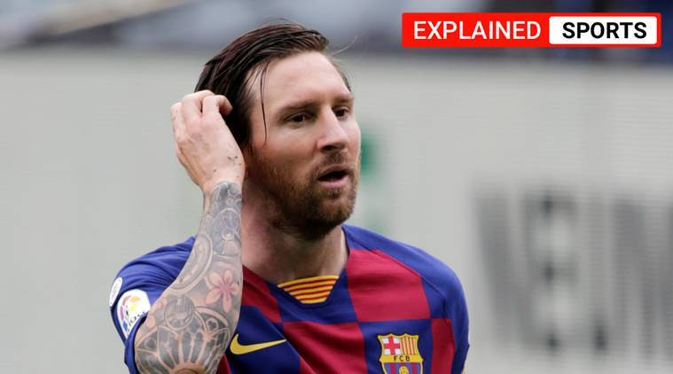 Is Lionel Messi leaving Barcelona?