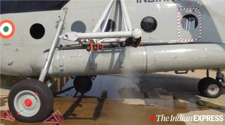indian air force, locust control system, mi 17, iaf