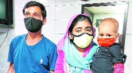 Fighting cancer & Covid, MP family returns to city flyover for 3rd time