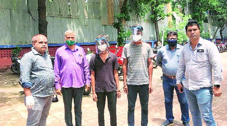 Coronavirus cases, Covid-hit police, Mumbai news, Maharashtra police, indian express news