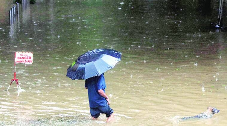 Mumbai: City receives first heavy rain since monsoon onset; water-logging, 3 wall collapses reported