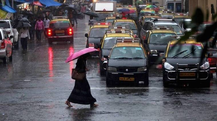 mumbai monsoon, mumbai rains, yellow alert for mumbai, mumbain weather forecast, imd mumbai weatehr forecast, imd mumbai rain forecast, idnian express news