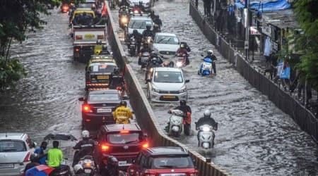 mumbai rains, maharashtra rains, thane rains, belapur rains, mumbai rainfall, north india rains, mumbai monsoon, mumbai monsoon rains, indian express