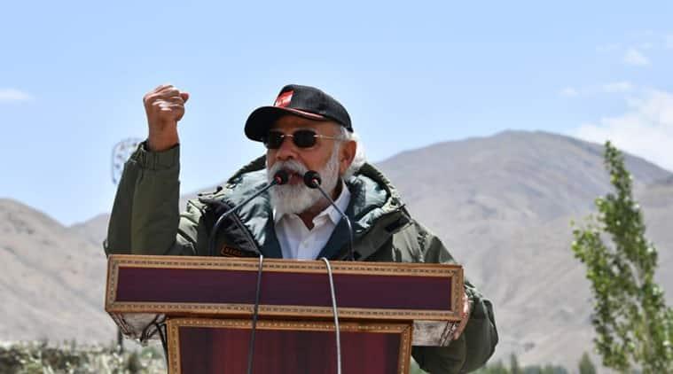 Modi reaches Ladakh to assess border situation with China