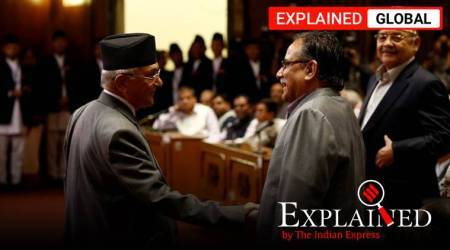 Nepal, India Nepal map row, India Nepal ties, K P Oli, Pushpa Kamal Dahal, Oli Prachanda rivalry, Indian Express