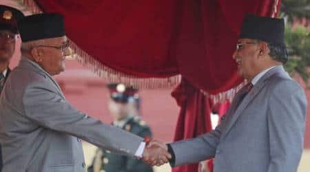 Nepal parliament crisis, Nepal government crisis, Nepal PM, KP Oli, Pushpa Kamal Dahal 'Prachanda', Oli Prachanda tussle, World news, Indian Express