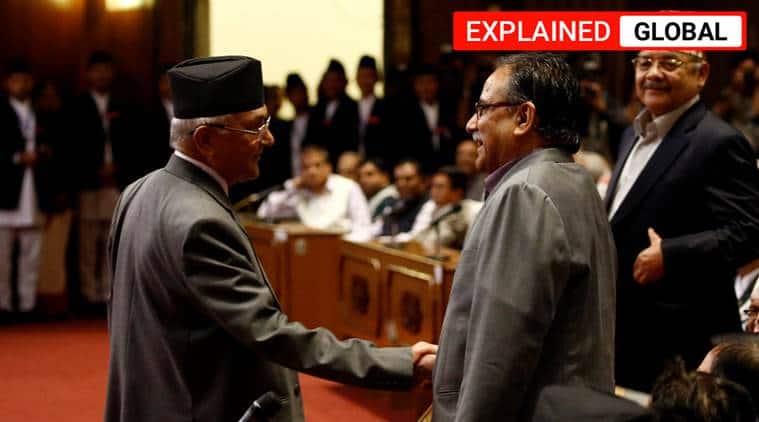 Nepal, India Nepal map row, India Nepal ties, K P Oli, Pushpa Kamal Dahal, Oli Prachanda rivalry, Indian Express