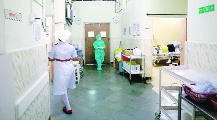 health workers, nurses boycott, Jehangir Hospital, Pune news, Indian express news