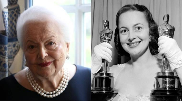 hollywood actor Olivia de Havilland dead