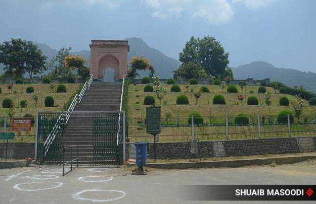 j&k news, kashmir gardens reopen, srinagar parks, mughal gardens, srinagar news, indian express