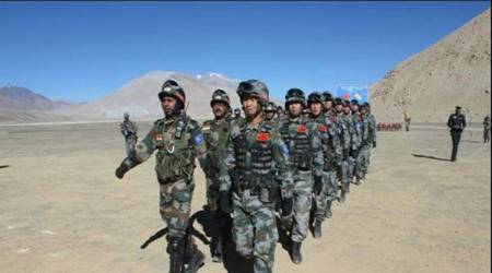 LAC dispute, Indian army, additional troops, military supply chain, Indian express news