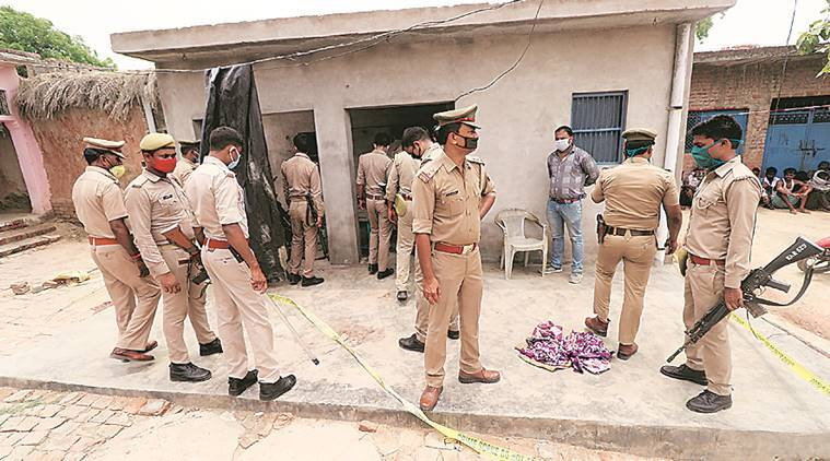 DSP, seven cops killed in failed raid for UP history-sheeter