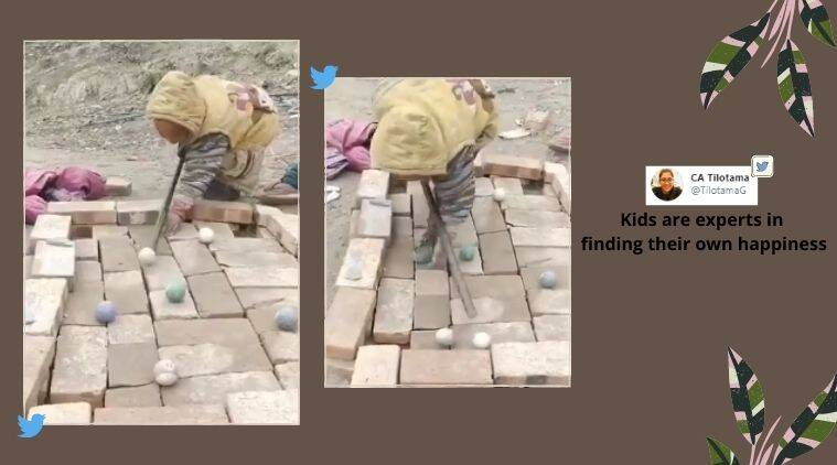 Pool table, Makeshift pool table, Brick pool table, boy pool table, boy makeshift pool table, boy brick pool table, Trending News, Viral video what is trending, Indian Express news
