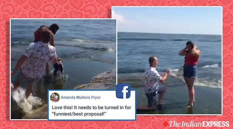 viral proposal, facebook, hilarious proposals, proposals gone wrong, funny proposals