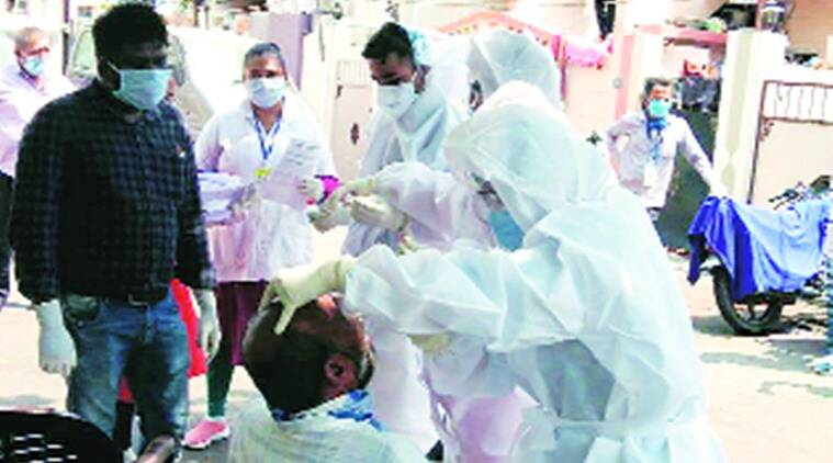 Rajkot coronavirus news update, rajkot covid cases, rajkot covid cases toll, rajkot covid active cases, indian express news