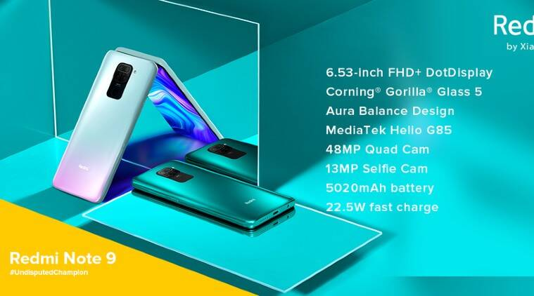 Xiaomi Launches Redmi Note 9 In India Price Starts At Rs 11 999 Technology News The Indian Express