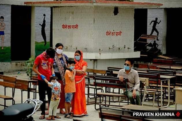 delhi covid cases, delhi school becomes testing centre, delhi coronavirus news, delhi coronavirus cases, delhi city news, indian express news