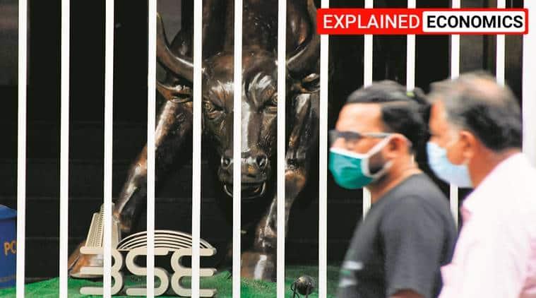 coronavirus lockdown, economic slowdown lockdown, sensex shares, stock market, shares update, covid pandemic, indian express explained,
