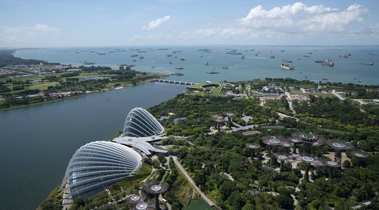 Singapore in survival mode looks to reinvent itself. Yet again